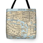 World Map 2nd Century Tote Bag