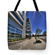 01 Conventus Medical Building On Main Street Tote Bag