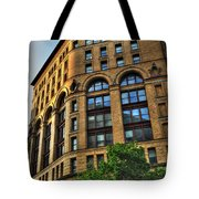 01 Dunn Building At Sunrise Tote Bag