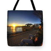01 Me Sunset 16mar16 Tote Bag