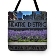 01 Plaza Of Stars Buffalo Theatre District Tote Bag