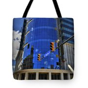 01 W. Chipp And Delaware Construction  Tote Bag