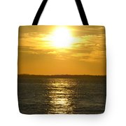 010 Sunset 16mar16 Tote Bag