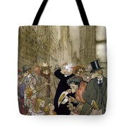 Rackham: City, 1924 Tote Bag
