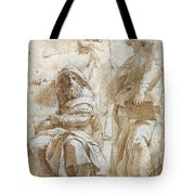 Raphael: Study, C1510 Tote Bag