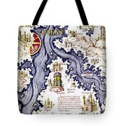 Marco Polo (1254-1324) Tote Bag