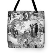 Uncle Tom's Cabin, C1899 Tote Bag