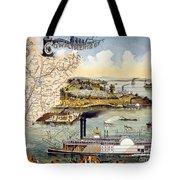Mississippi Steamboat Tote Bag
