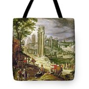 Roman Forum, 16th Century Tote Bag by Granger