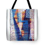 01325 Blue Too Tote Bag