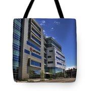 02 Conventus Medical Building On Main Street Tote Bag