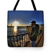 02 Me Sunset 16mar16 Tote Bag