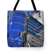 02 W Chipp And Delaware Construction  Tote Bag