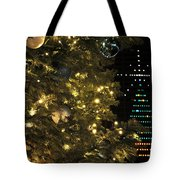 02 Xmas Trees At Canalside And Seneca One Tower Dec2015 Tote Bag