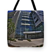 03 Conventus Medical Building On Main Street Tote Bag