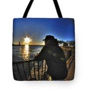 03 Me Sunset 16mar16 Tote Bag