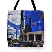 03 W Chipp And Delaware Construction  Tote Bag