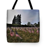 04 Flags For Fallen Soldiers Of Sep 11 Tote Bag