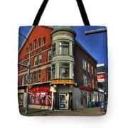 04 Main Food Market Early Morning Tote Bag