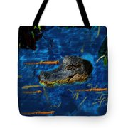 04142015 Gator Hole Tote Bag