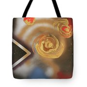046 Thrice Golden Tote Bag