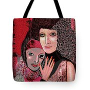 047  Friendship - To Lean On  V Tote Bag