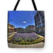 05 Plaza Of Stars Tote Bag