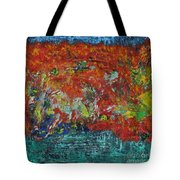 057 Abstract Thought Tote Bag