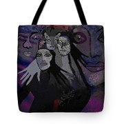 071   The  People Of   Night  A Tote Bag