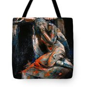 073 Weeping Lady F.w. Blanchard Grave Monument- Hollywood Forever Cemetery Tote Bag