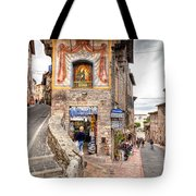 0755 Assisi Italy Tote Bag