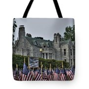 08 Flags For Fallen Soldiers Of Sep 11 Tote Bag