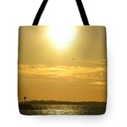 08 Sunset 16mar16 Tote Bag