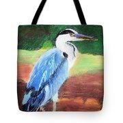 08282016 Female Blue Heron Tote Bag