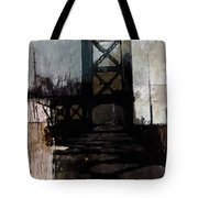 083 Manhattan Bridge Tote Bag