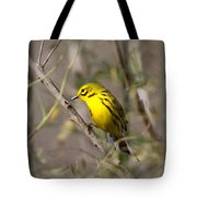0839 -yellow Warbler Tote Bag