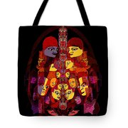 086 -  Masked People  A Tote Bag