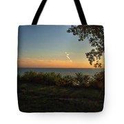 0874- Lake Michigan Sunset Tote Bag