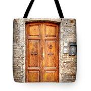 0958 Assisi Italy Tote Bag