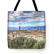 0960 Florence Italy Tote Bag