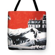 - Giant - Tote Bag by Luis Ludzska