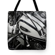 1 - Harley Davidson Series  Tote Bag by Lainie Wrightson