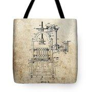 1903 Wine Press Patent Tote Bag