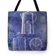 1921 Coffee Pot Patent Tote Bag