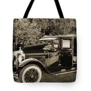 1924 Buick Duchess Antique Vintage Photograph Fine Art Prints 10 Tote Bag