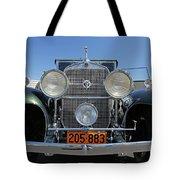 1931 Cadillac Automobile Tote Bag