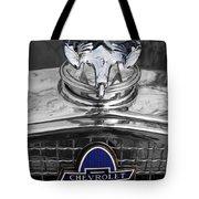 1931 Chevrolet Hood Ornament Tote Bag