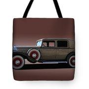 1932 Classic Buick 4 Door Sedan Tote Bag
