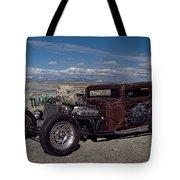 1932 Chevrolet Rat Rod Tote Bag