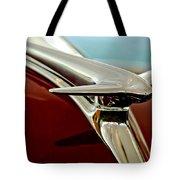 1938 Lincoln Zephyr Hood Ornament Tote Bag